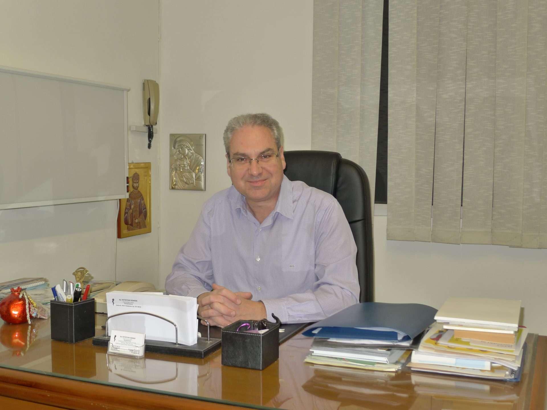 Πνευμονολόγος - Κωνσταντίνος Κατσούλης